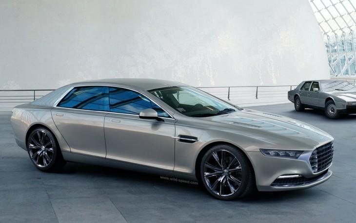 Aston-Martin Lagonda sedan