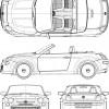 Fiat 500 Spider concept diagram