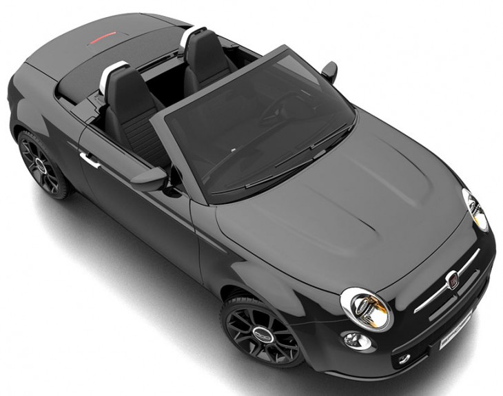 Fiat 500 Spider concept