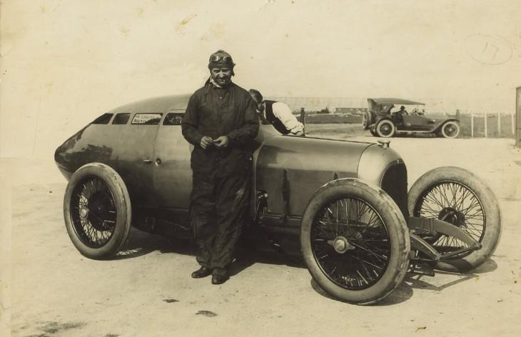 Golden Submarine race car