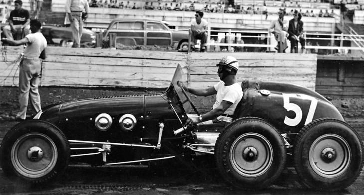Pat Clancy six-wheel special
