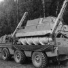 ZilL-2906 screw-propelled vehicle and Bluebird carrier truck