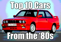 top 10 cars from the 80s