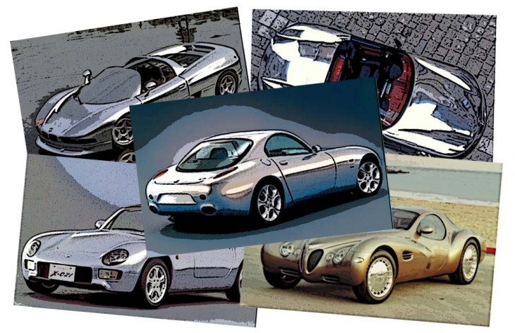 five 1990s concept cars