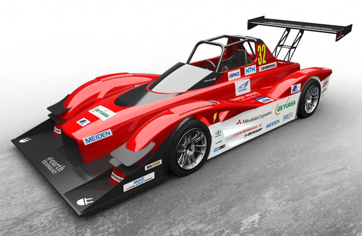 Mitsubishi MiEV Evolution III electric race car