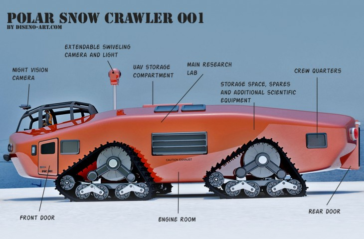 Polar Snow Crawler PSC-001