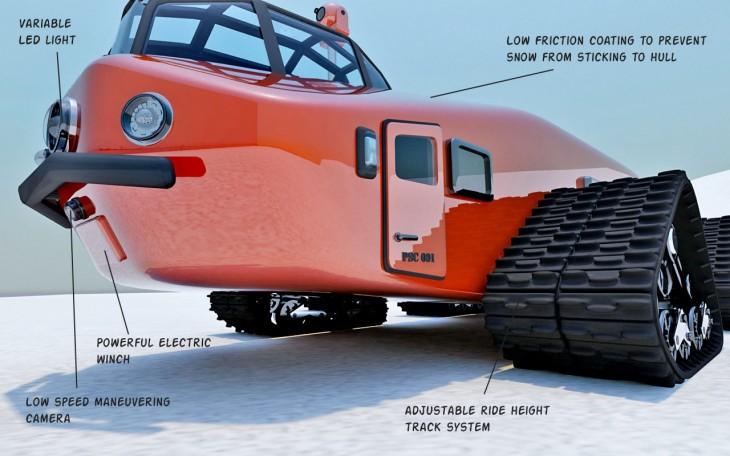 Polar Snow Crawler PSC-001