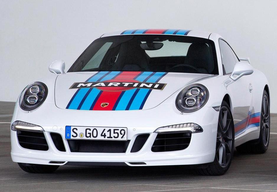 Porsche Martini 911