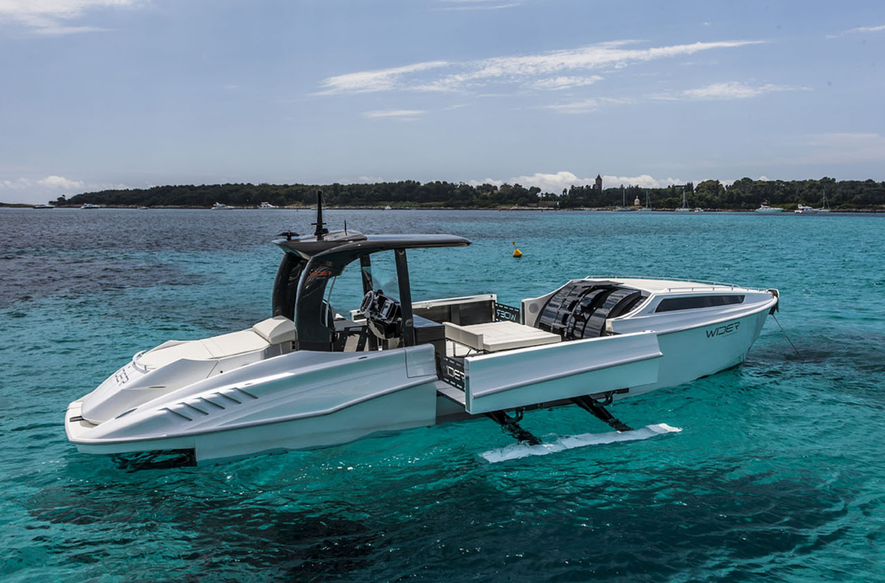 Wider 42 – Morphing yacht lives up to its name