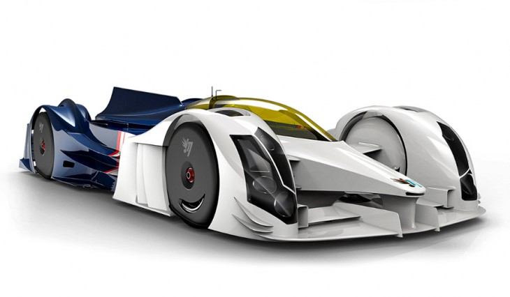 InMotion IM01 hybrid race car