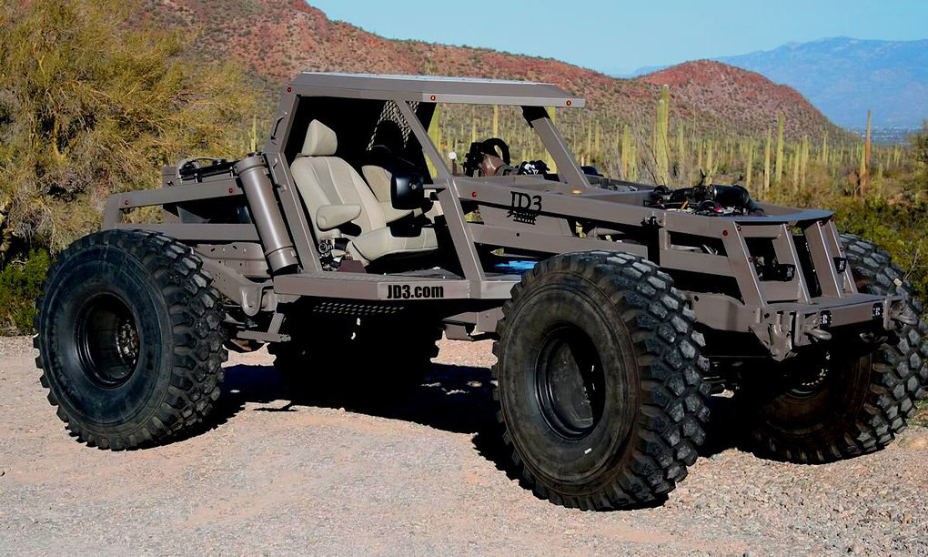 Ford Excursion-based JD3 Rockzilla
