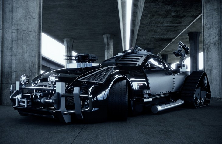 Zombie-proof Maybach Exelero concept