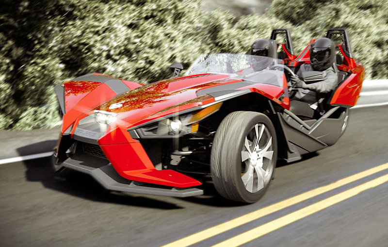 Does Can Am Spyder Have A New Enemy Polaris Slingshot Reversed Trike