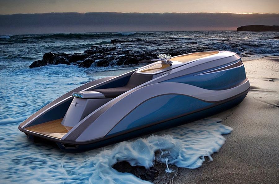 Strand Craft V8 Wet Rod luxury PWC