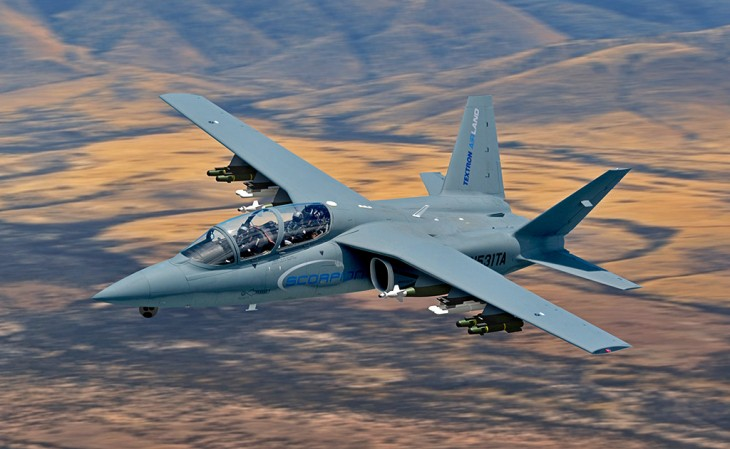 """Textron AirLand Scorpion – """"Affordable"""" Military Jet"""