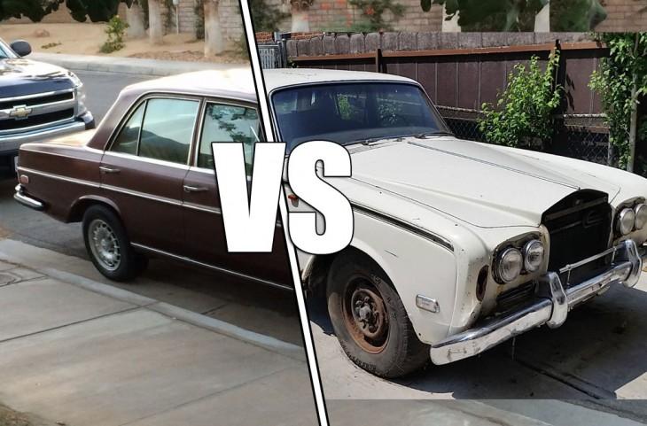 Mercedes-Benz vs Rolls Royce