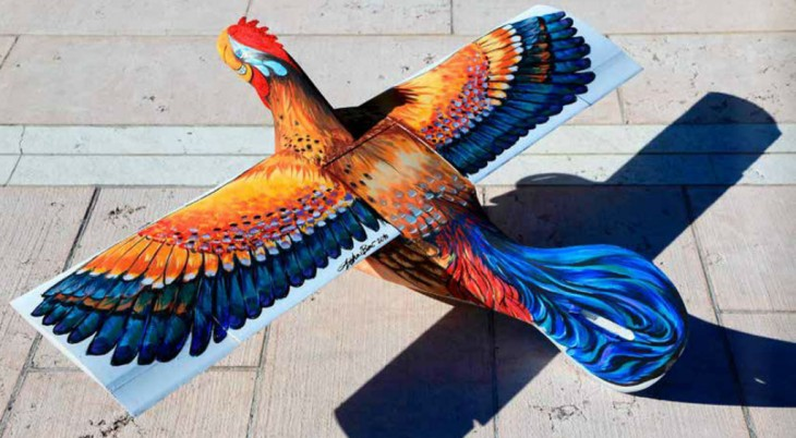 Aerogallo rooster airplane