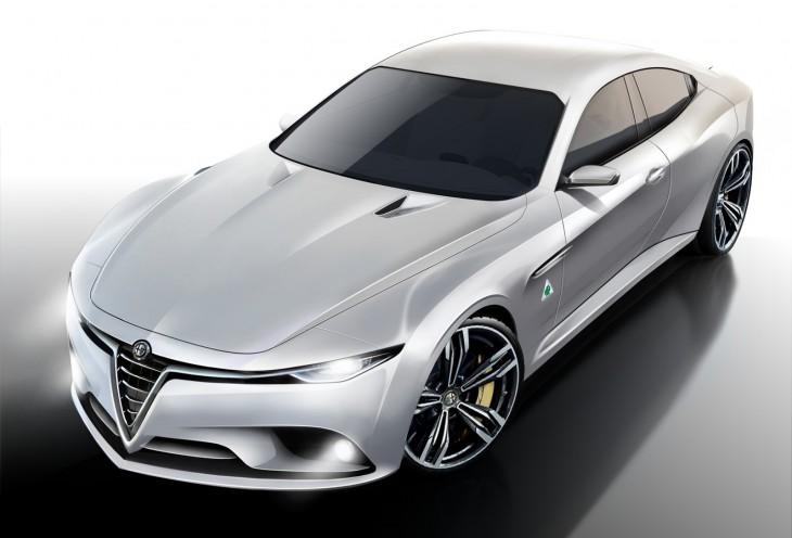 2015 Alfa Romeo Giulia sedan