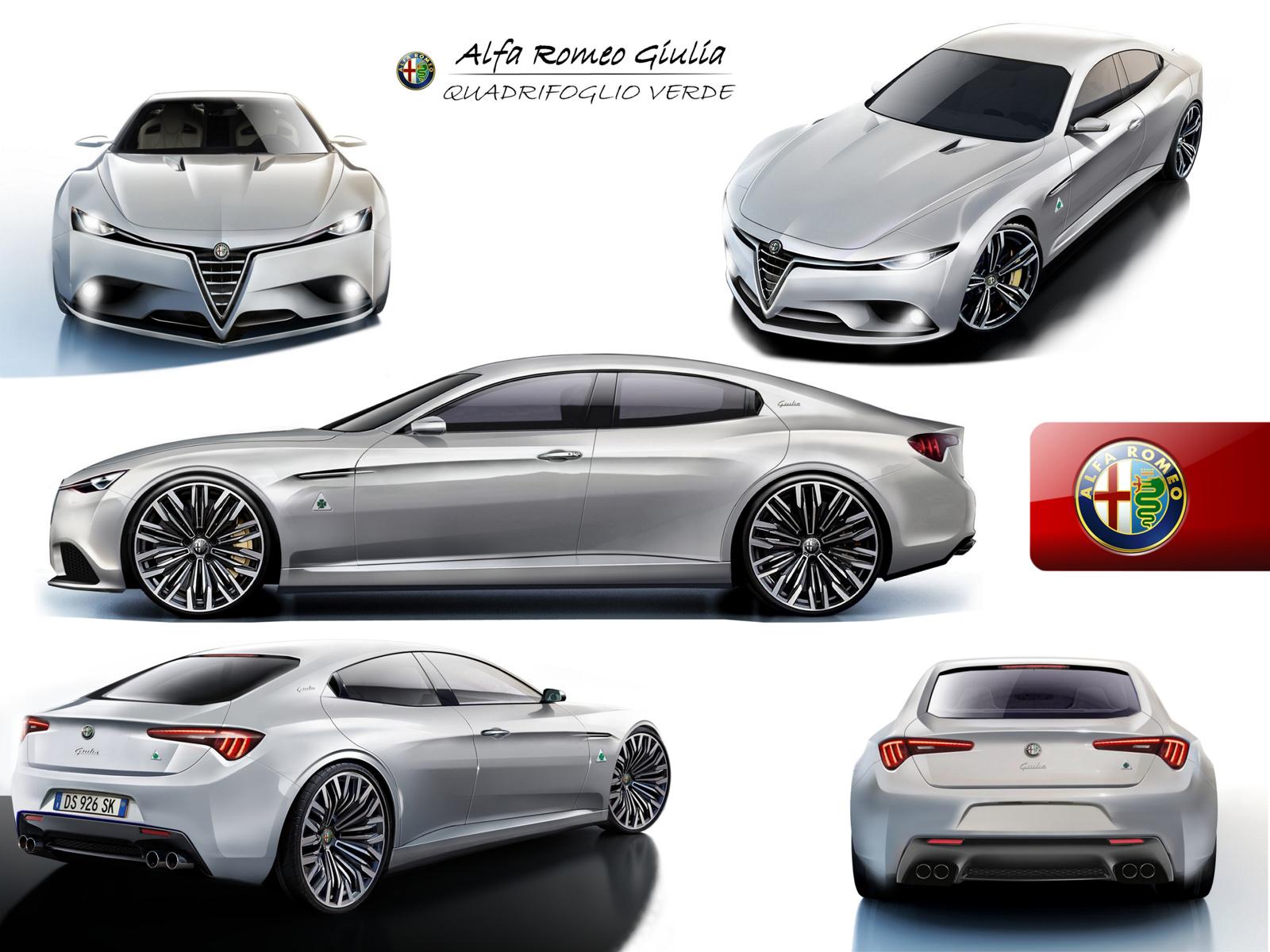 Alfa News 2015 2015 Alfa Romeo Giulia