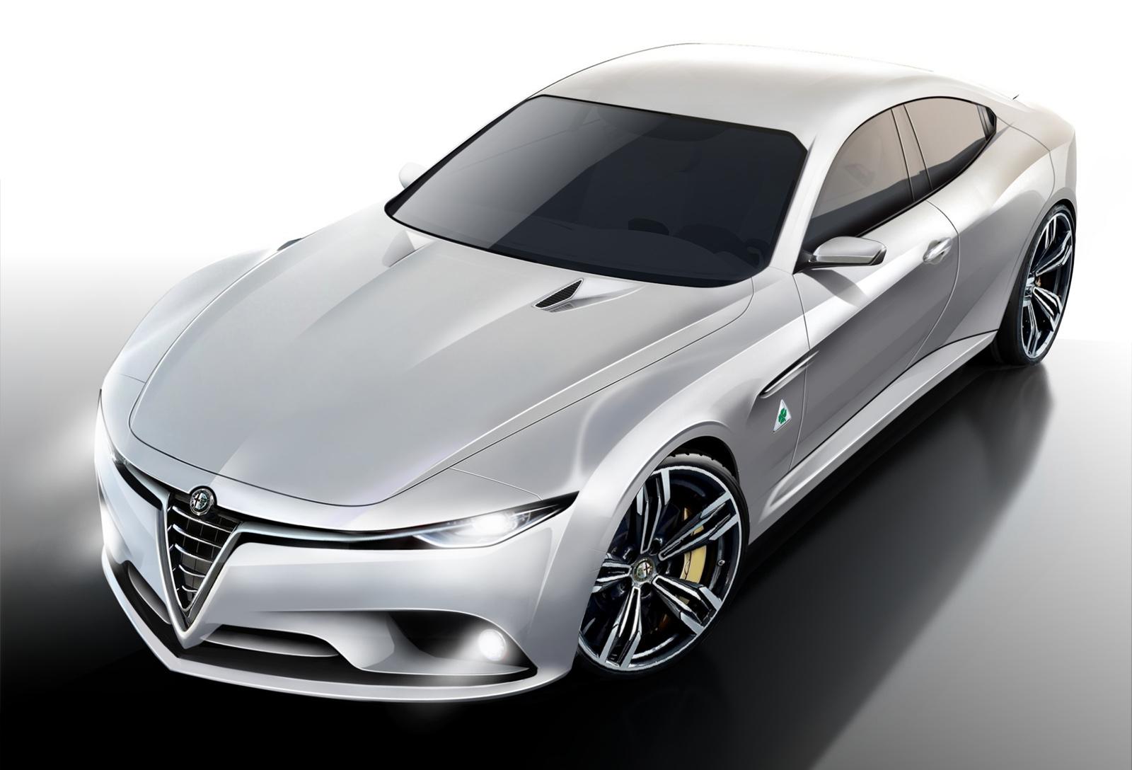 2015 Alfa Romeo Giulia rendering