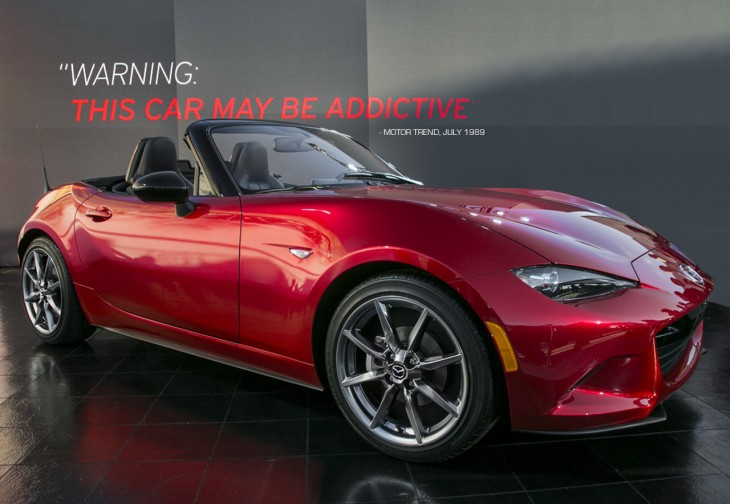 2016 Mazda MX-5 Miata ND