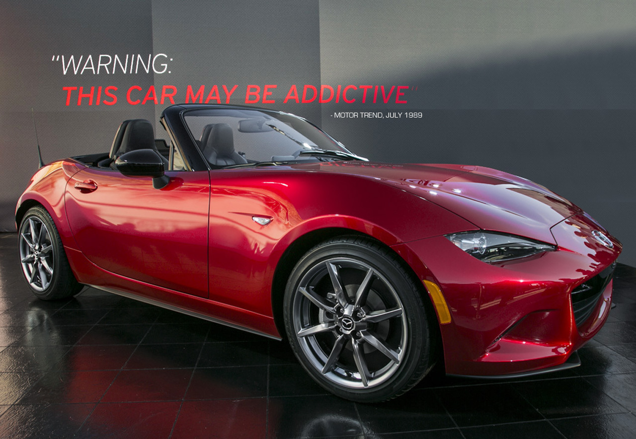 mazda mx 5 miata 2016. Black Bedroom Furniture Sets. Home Design Ideas
