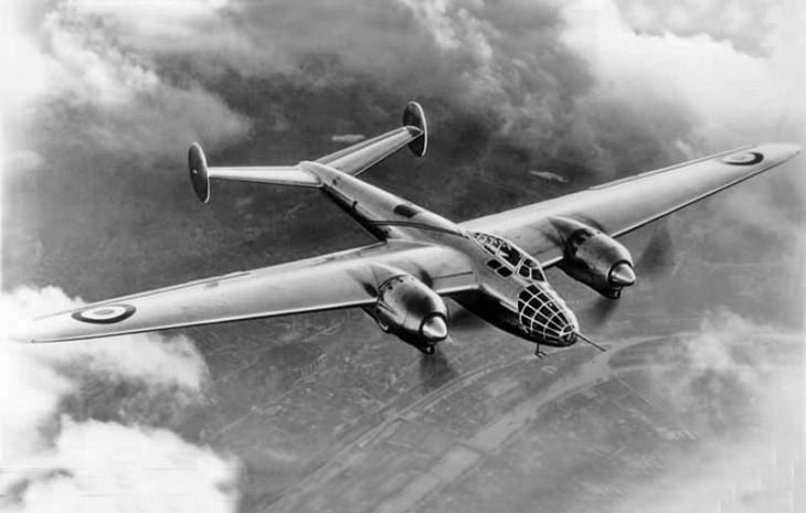 Amiot 351 light bomber aircraft
