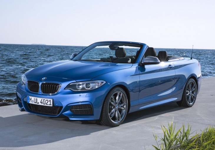 BMW 2 Series Convertible – up to 320 hp, AWD optional