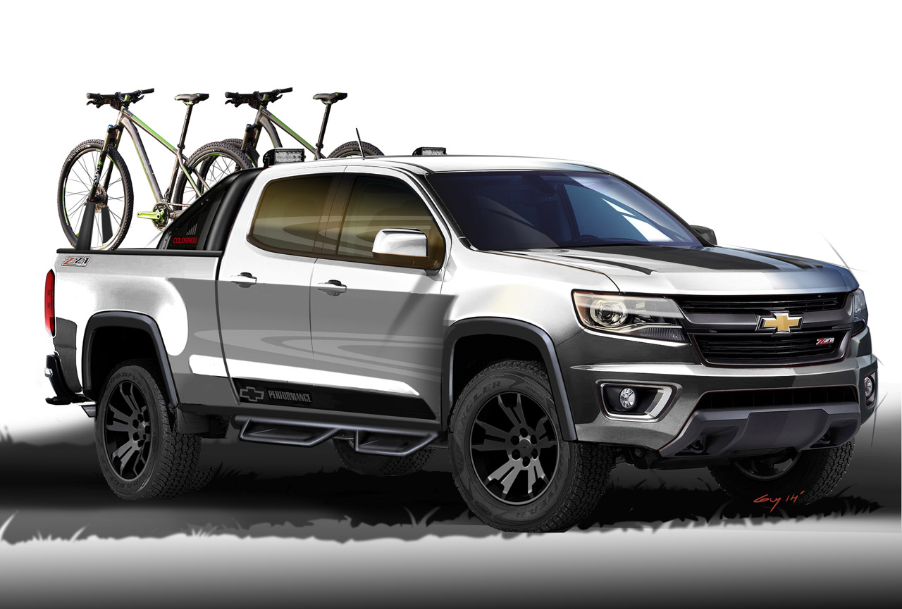Chevrolet Colorado Sport Concept packs multiple accessories