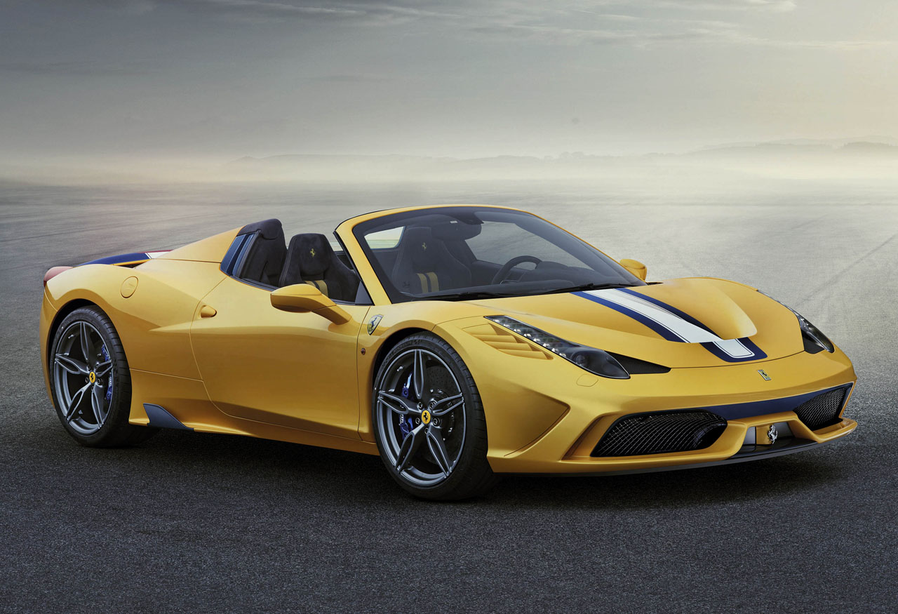 Ferrari 458 Speciale A. The A stands for Aperta.
