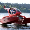 Helicat 22 boat that looks like a helicopter