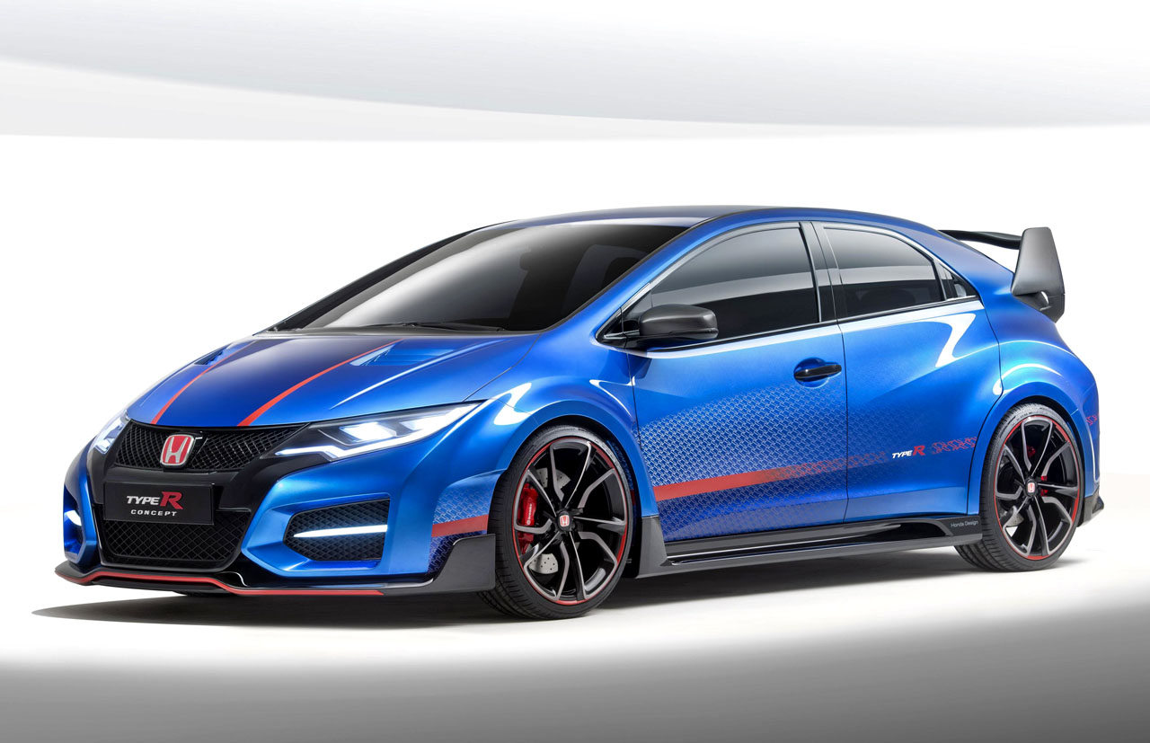 2015 Honda Civic Type R previewed in concept form