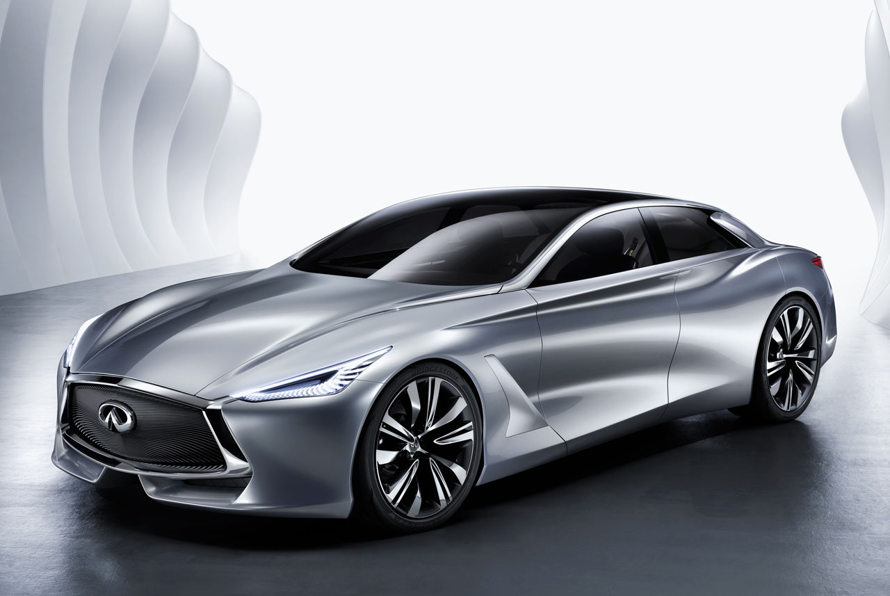 Infiniti Q80 Inspiration Concept previews the future