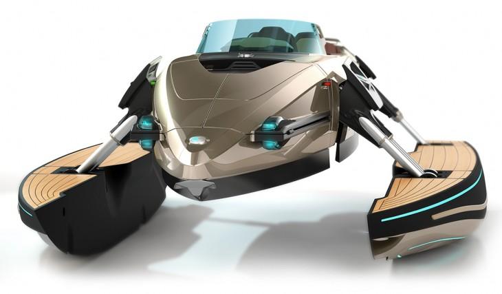 Kormaran concept speedboat