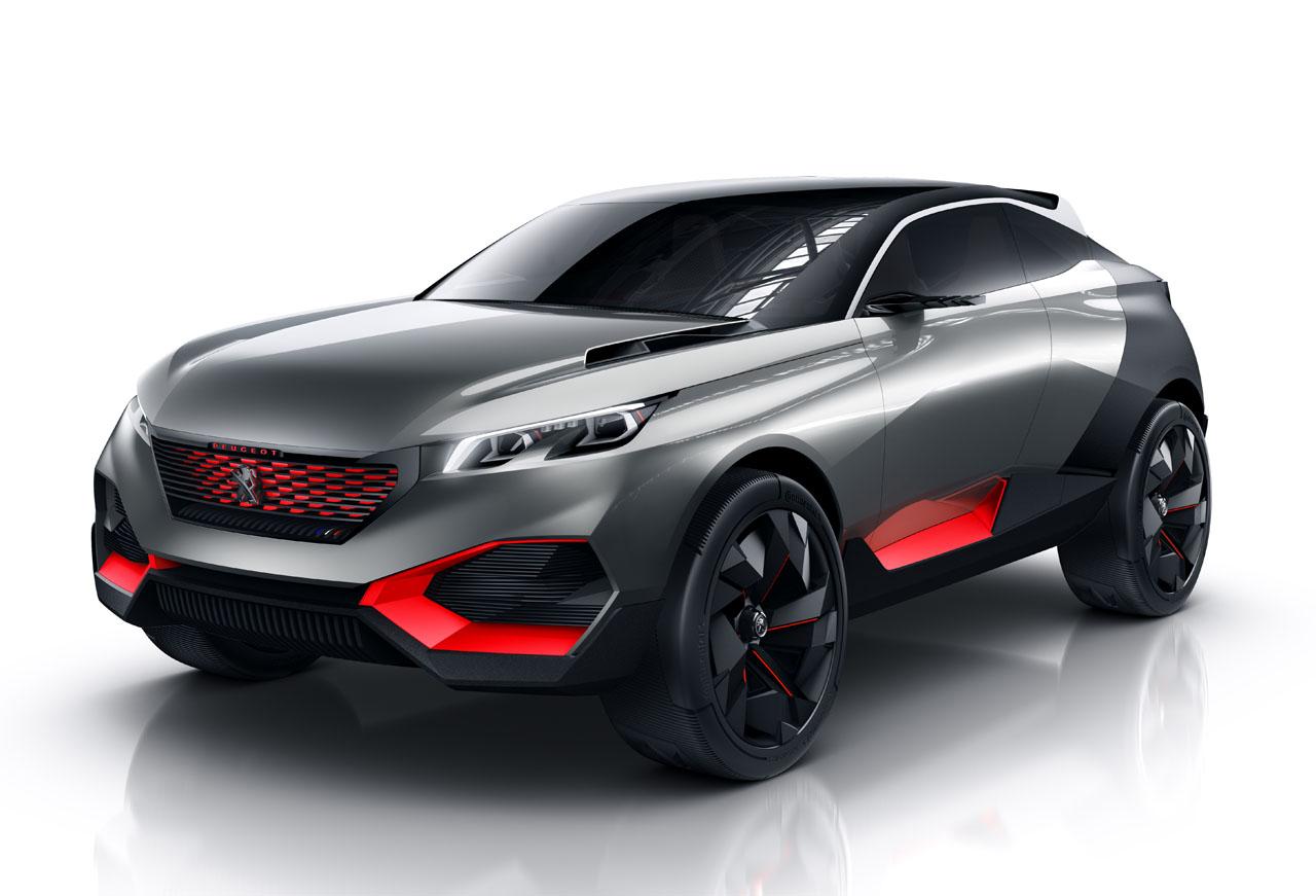 Peugeot QUARTZ futuristic SUV concept