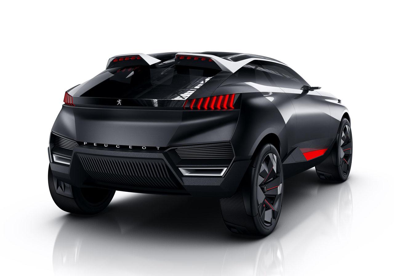 Peugeot Quartz Futuristic Suv Concept Diseno