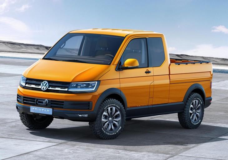 Volkswagen TRISTAR pickup truck concept