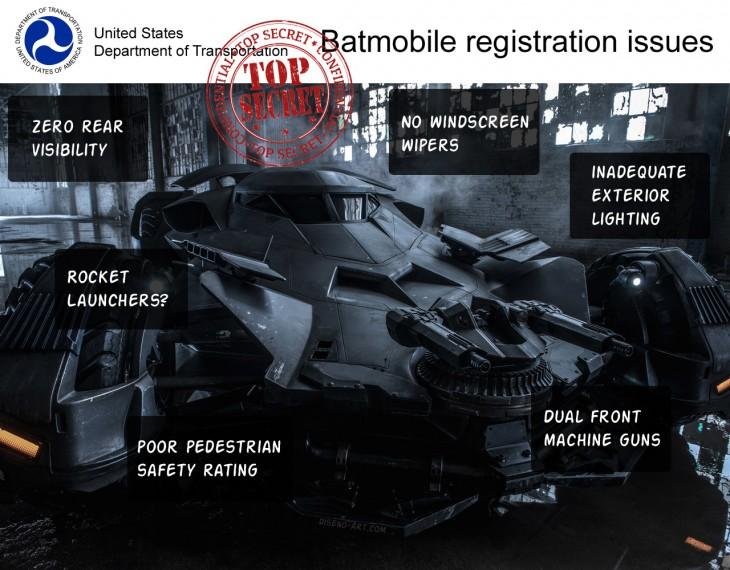 new 2016 Batmobile from Batman v Superman
