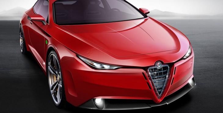 2015 Alfa Romeo GTV concept front