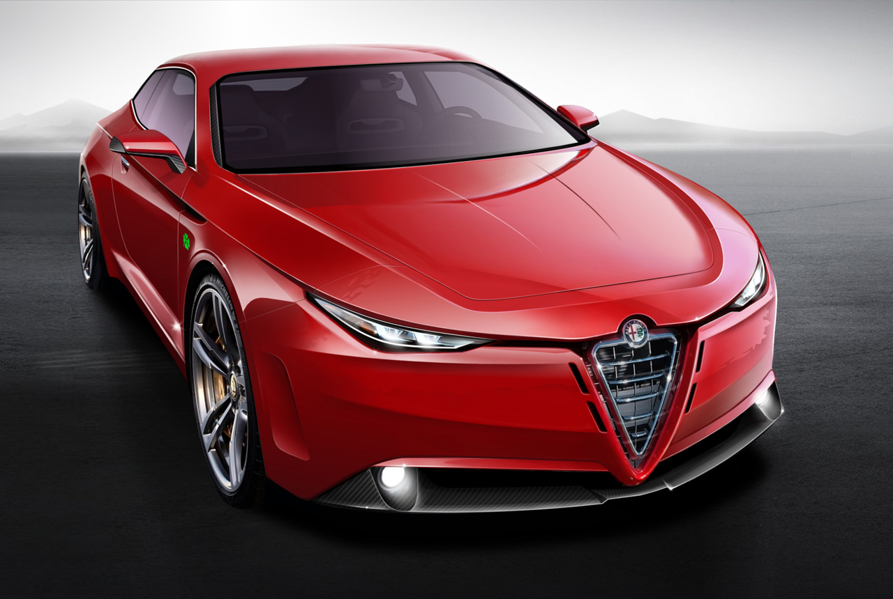 Alfa Romeo GTV concept rendered
