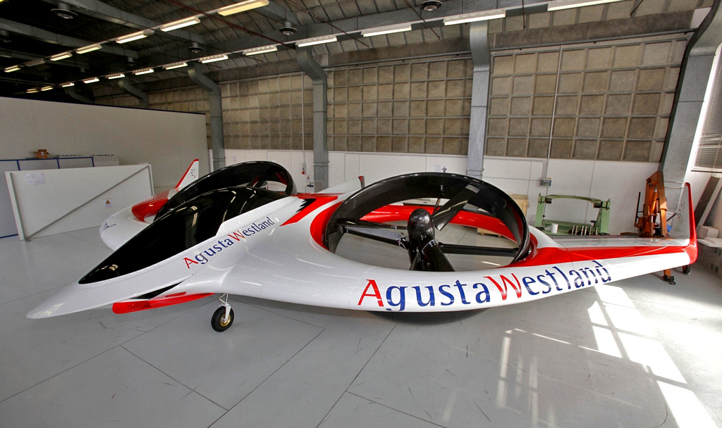 Agustawestland Project Zero Electric Ed Helicopter