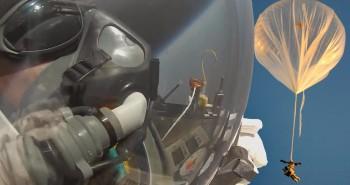 Google Executive Alan Eustace's Record-Breaking Skydive