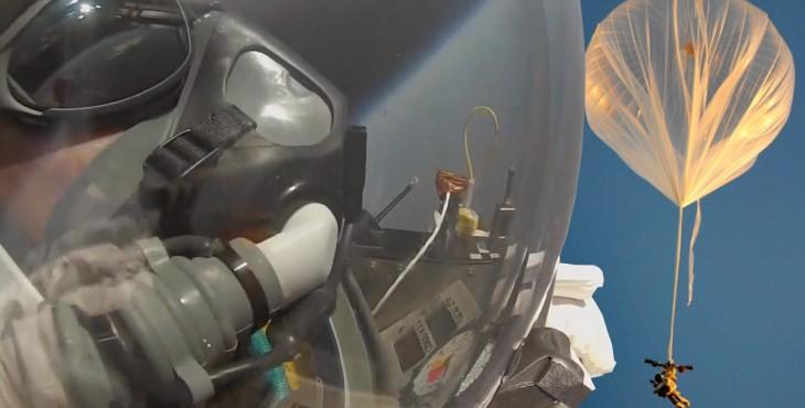 Alan Eustace StratEx Paragon space jump