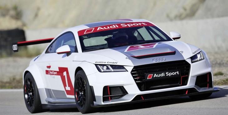 Audi Sport TT Cup race car