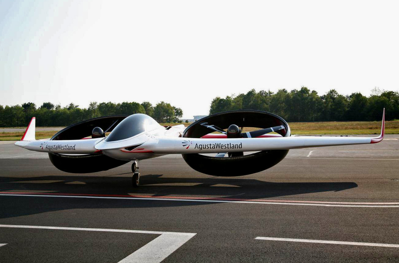 AgustaWestland Project Zero electric powered helicopter