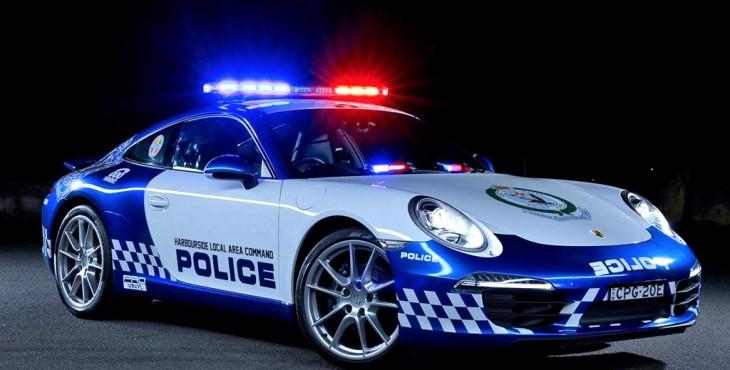 Australia Police Porsche 911 Carrera