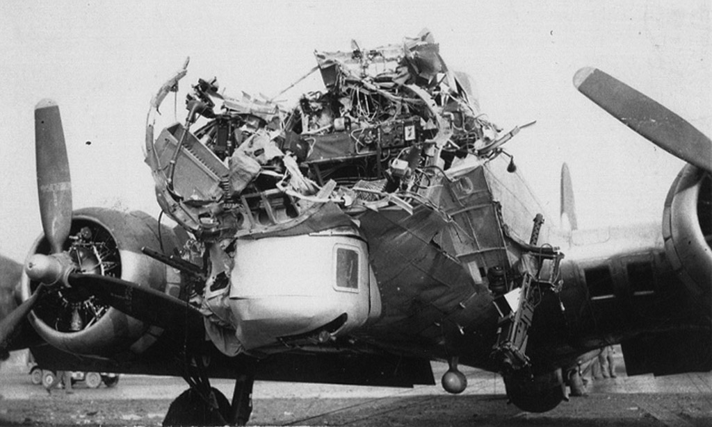 Sources headline photo Murray  B17 Damage