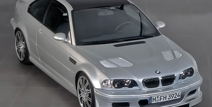 BMW M3 GTR (E46) street version