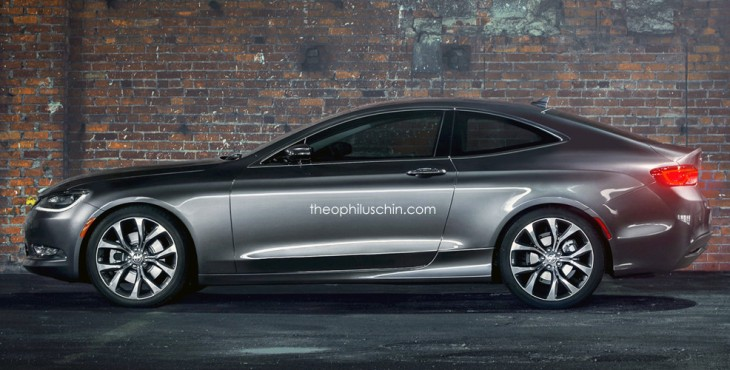 Chrysler 200 Coupe side view