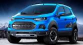 Ford Raptor-inspired EcoSport SUV concept
